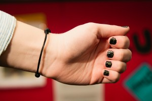 Stickers make manicures super simple