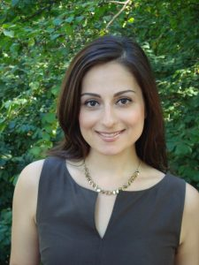 Finance expert Farnoosh Torabi offers career advice at HUB appearance