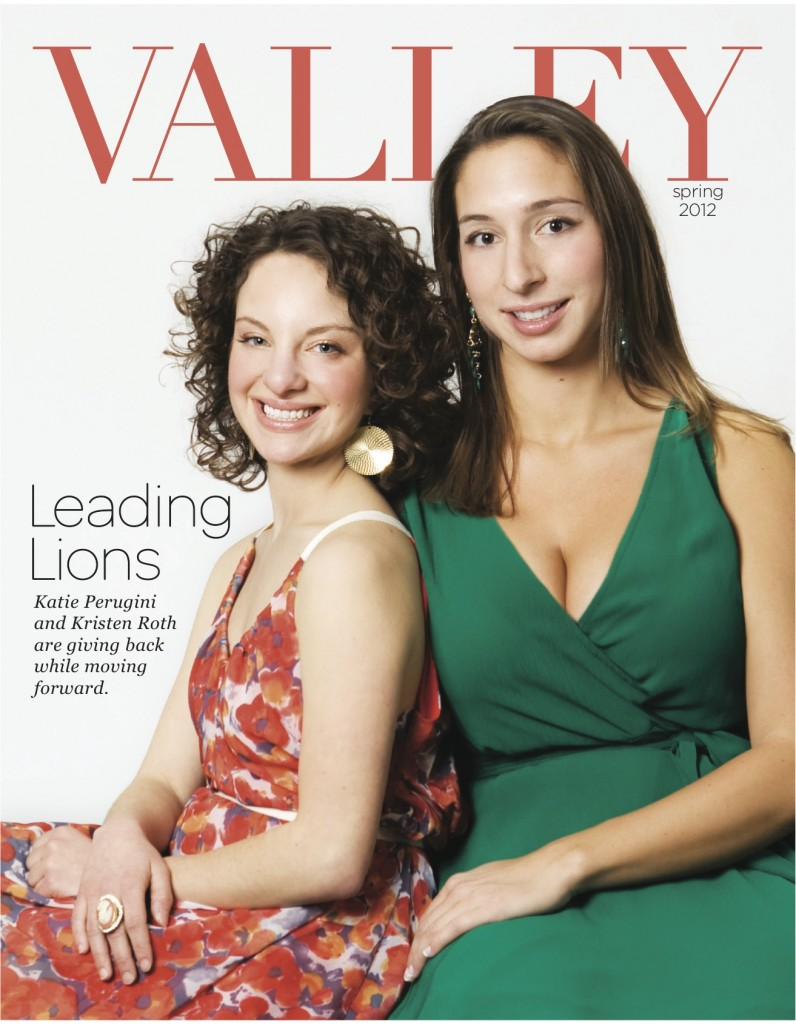 Meet the Spring 2012 cover girls: Katie Perugini and Kristen Roth!