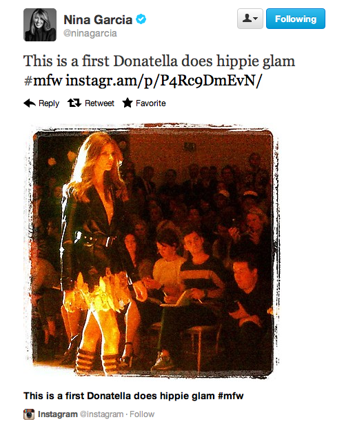 Fashion Month Sends Twitter in Uproar
