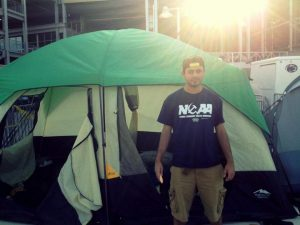 We Are…In A Tent!