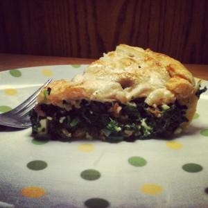 Kitchen InFerno: When Spinach Pie Goes Italian