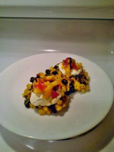 Kitchen InFerno: Spring Break Inspired, Corn Cakes & Citrus Salsa