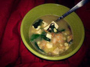 Kitchen InFerno: Shrimp Soup