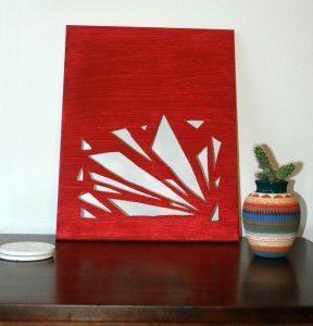 DIY: Cut-out Canvas