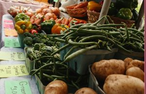 Food for Thought: Farmer's Market Pickings