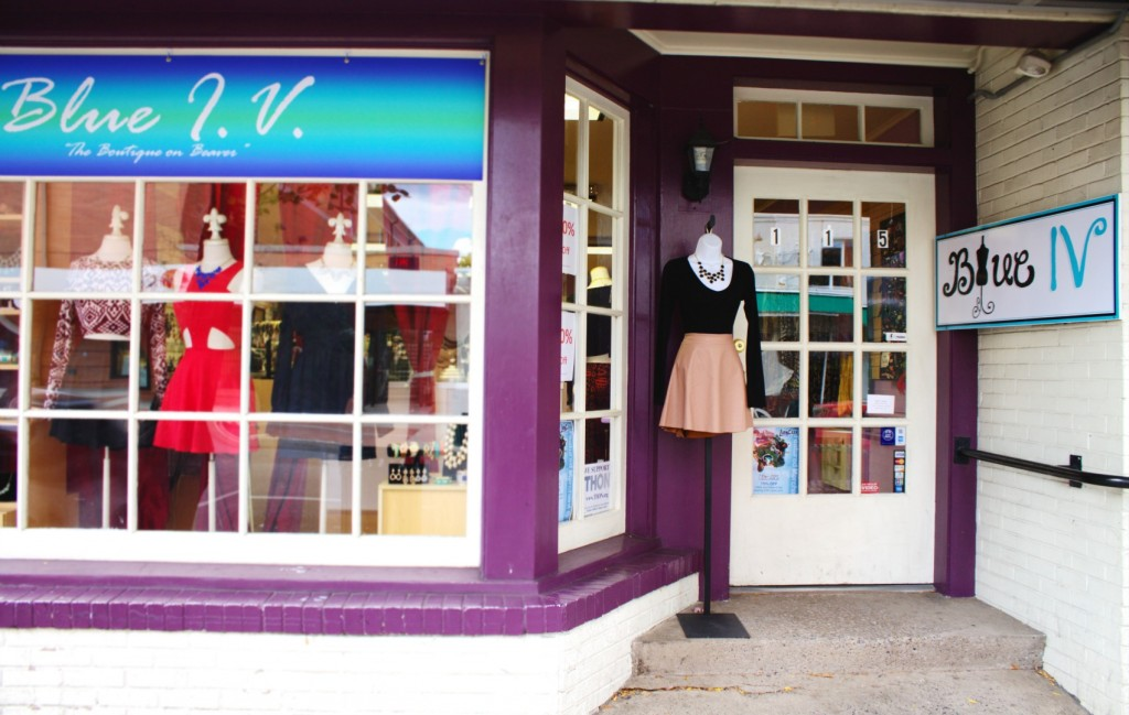 The Boutique on Beaver: Blue I.V.