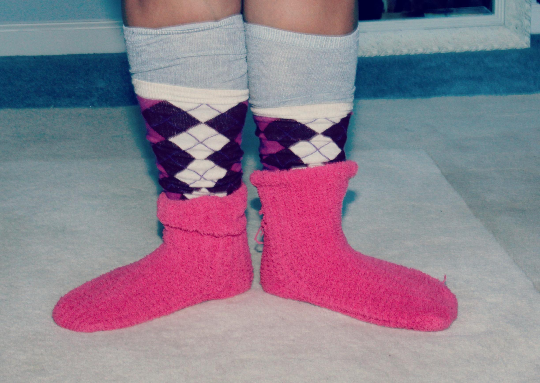 Styling Socks for Winter