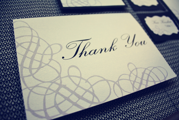 Writing the Perfect Thank You Note