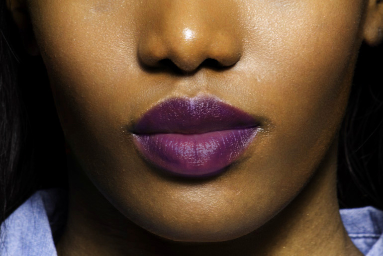 Lips the Color of Purple
