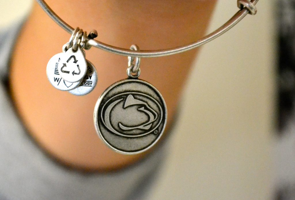 Alex and Ani: Penn State Logo Bangle