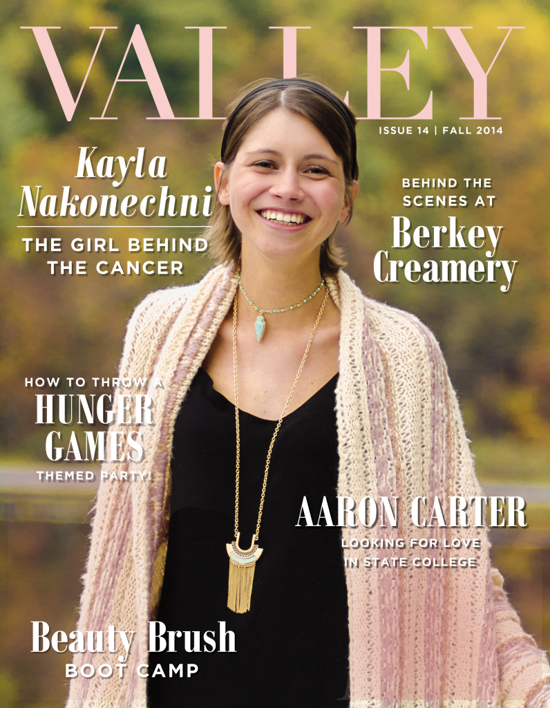 Valley Presents Our Fall 2014 Cover Girl… Kayla Nakonechni!