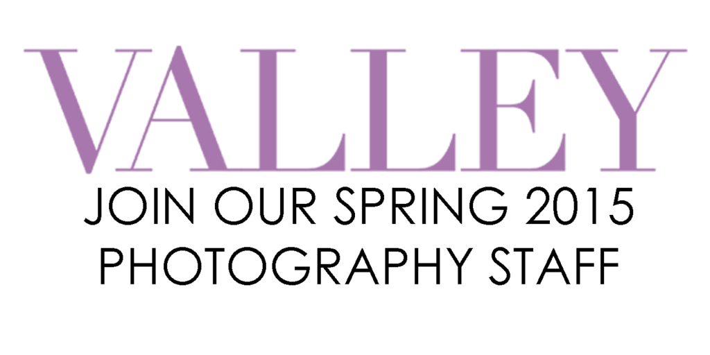 Join Our Spring 2015 Photography Staff!